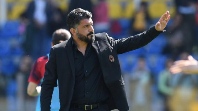 Milan Gennaro Gattuso ile yollarını ayırdı