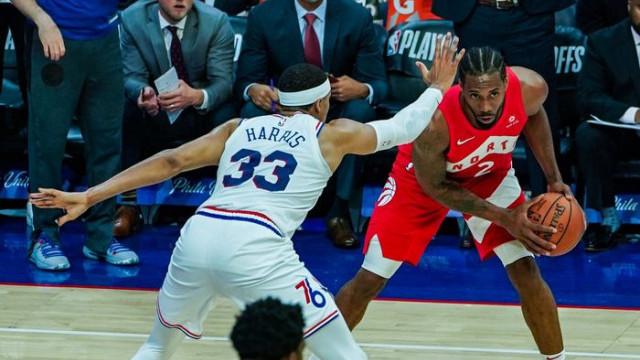 Philadelphia 76ers 96 - 101 Toronto Raptors (Portland Trail Blazers 112 - 116 Denver Nuggets)