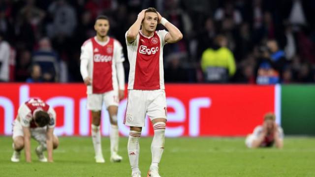 Ajax'ın elenmesi Hollanda basınında geniş yer buldu