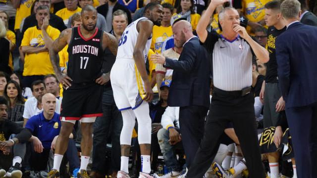 Sakatlanan Kevin Durant, Houston Rockets serisinde forma giyemeyecek