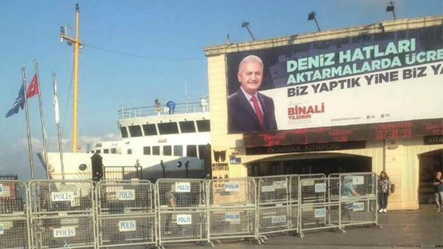 Kadıköy'de vapur kullananlara Yıldırım zorunluluğu