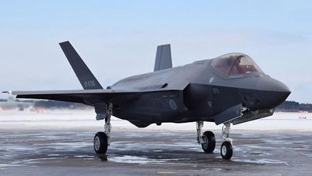 F-35'in düşme nedeni belli oldu