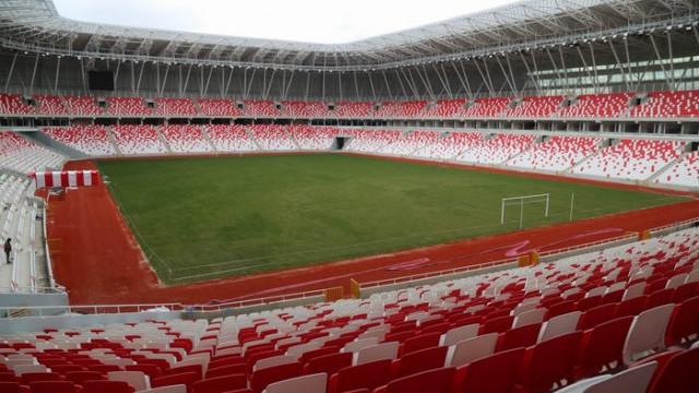 Valilik EURO 2020 Elemelerindeki bir maçın Sivas'ta oynanması için başvuru yaptı