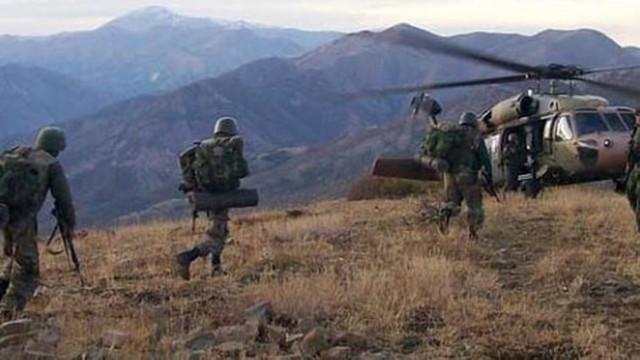 Tendürek Dağı'nda operasyon: 4 terörist öldürüldü