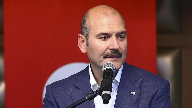 Soylu, Trabzon'daki İmamoğlu mitingine ''Photoshop'' dedi