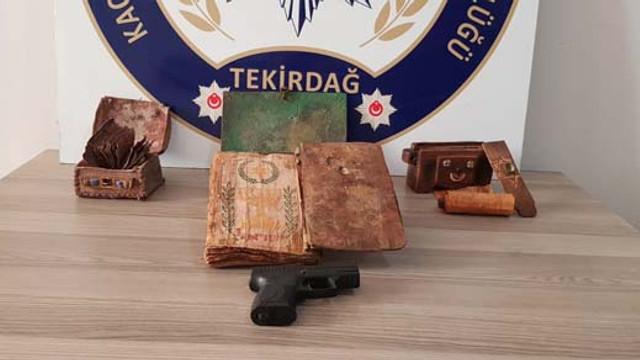 Tekirdağ'da tarihi eser kaçakçılarına suç üstü