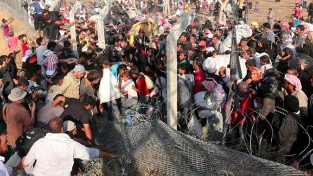 700 Suriyeli, mülteci kampından kaçtı