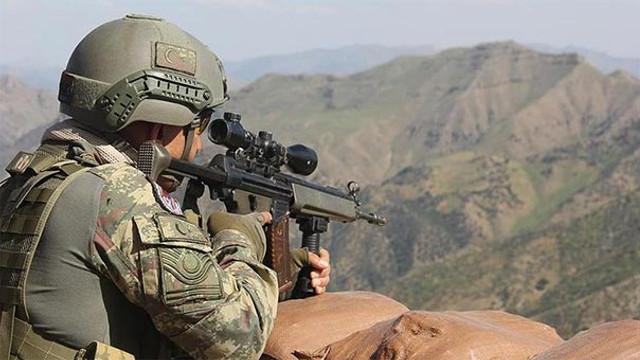 Şırnak kırsalında 2 terörist öldürüldü