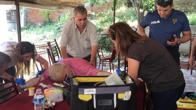 Çay bahçesinde ölen adamın katili: Haberlerde izlemiştim