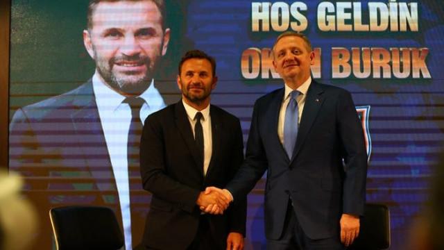 Başakşehir'in yeni hocası Okan Buruk, Vedat Muriç'i istiyor