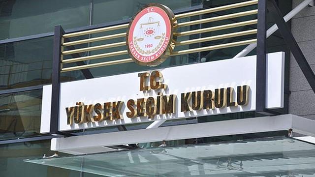 YSK'dan AK Parti'nin başvurusu hakkında karar