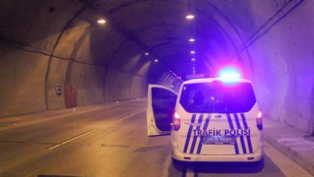 Dolmabahçe-Bomonti Tüneli'nde feci kaza: 1 ölü