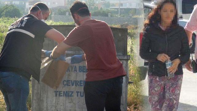 Bebeğini çöpe atan anne gözaltına alındı
