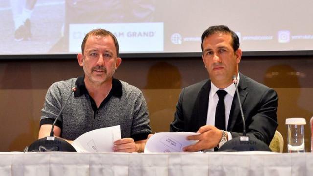 Sergen Yalçın: Amacımız UEFA şampiyonu olmak değil ama...