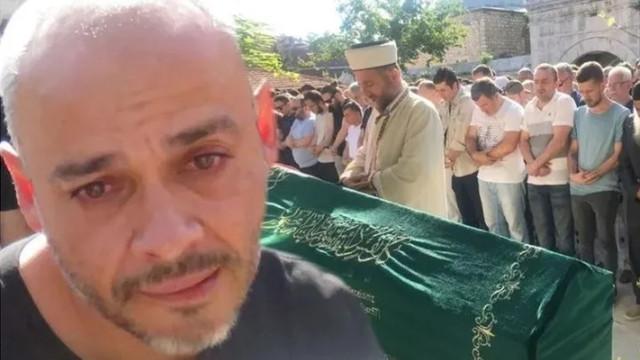 Rapçi Ceza'nın en acı günü! Bu sözleri herkesi ağlattı
