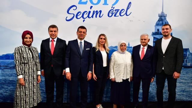 Yıldırım ve İmamoğlu ailelerinden hatıra fotoğrafı