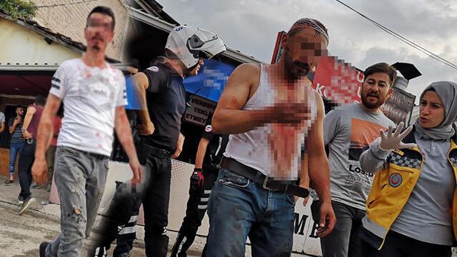 Satırlı bıçaklı kavgada bir kişi tutuklandı