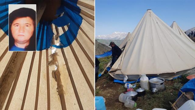 Çadıra yıldırım düştü: 1 ölü