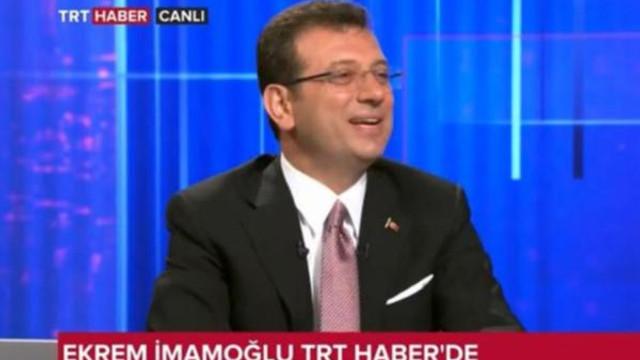 İmamoğlu TRT canlı yayınında TRT'yi fırçaladı !