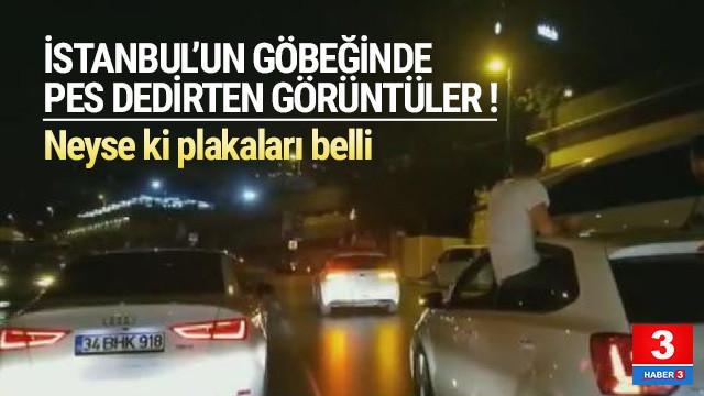 İstanbul'un göbeğinde maganda terörü