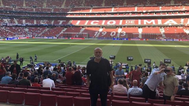 Hikmet Karaman, Liverpool - Tottenham maçındaydı
