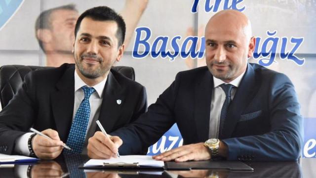 Büyükşehir Belediye Erzurumspor teknik direktörlüğe Muzaffer Bilazer'i getirdi