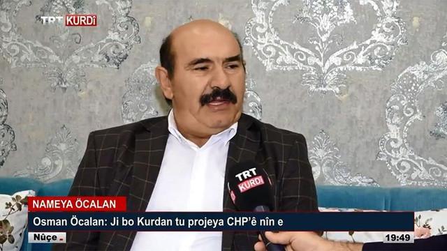 TRT bebek katili Öcalan'ın kardeşiyle röportaj yaptı!