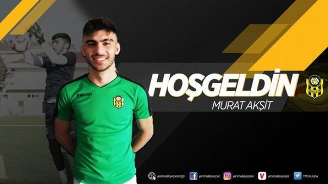 Evkur Yeni Malatyaspor Murat Akşit'i renklerine bağladı