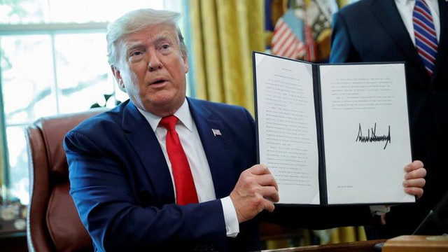 Trump imzayı attı ! İran'a yeni yaptırımlar geliyor