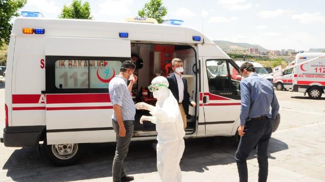 Nevşehir Adliyesi'nde ''şüpheli toz'' alarmı !