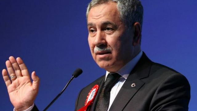 Beştepe'de olan Bülent Arınç'tan 23 Haziran açıklaması