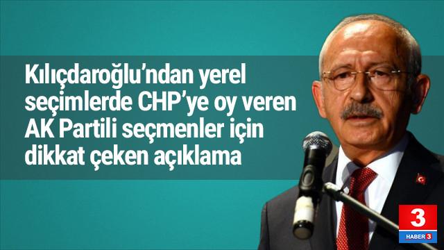 Kılıçdaroğlu'ndan dikkat çeken AK Parti seçmeni açıklaması