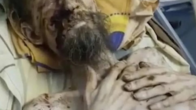 Yürüyen ceset ! Bir ay boyunca mağarada esir tutuldu