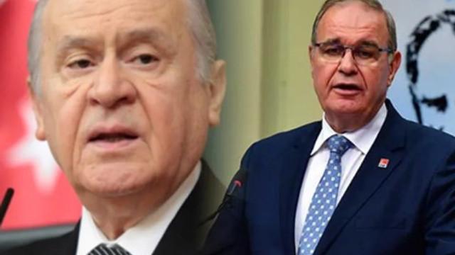 CHP'li Faik Öztrak'tan Devlet Bahçeli'ye yanıt