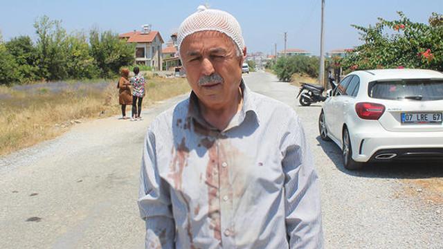 Yaşlı adam yolda dehşeti yaşadı !