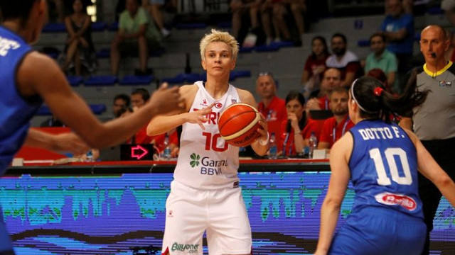 Türkiye 54 - 57 İtalya (FIBA Kadınlar Avrupa Şampiyonası)
