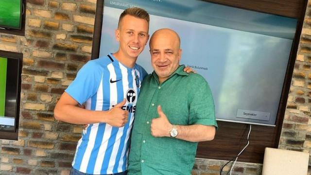 Adana Demirspor Nermin Hodzic ile sözleşme imzaladı