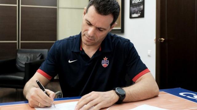 CSKA Moskova, Itoudis ile 2 yıllık yeni sözleşme imzaladı