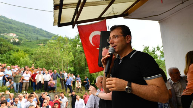 İmamoğlu'na memleketi Trabzon'da tam destek