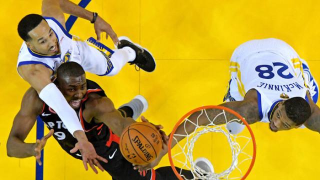 Golden State Warriors 109 - 123 Toronto Raptors