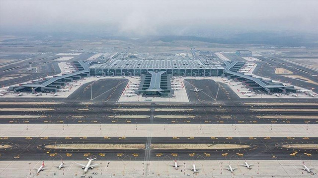 İstanbul Havalimanı Atatürk Havalimanı'nı geçemedi !