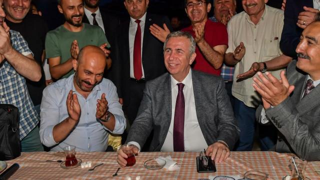 Başkan Mansur Yavaş esnafa söz verdi