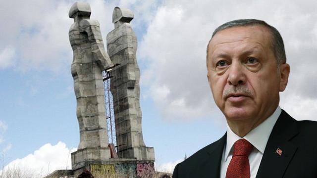 Erdoğan ''ucube'' demişti... AYM'den flaş karar !
