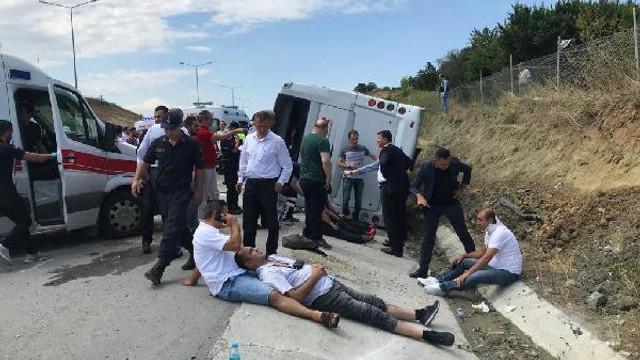 Kuzey Marmara Otoyolu'nda kaza: Çok sayıda yaralı var
