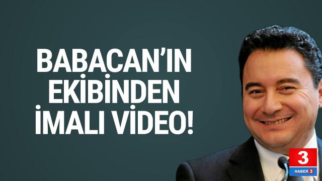 Ali Babacan'ın ekibinden yeni video geldi
