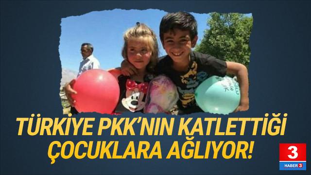 Türkiye PKK'nın Tunceli'de katlettiği çocuklara ağlıyor
