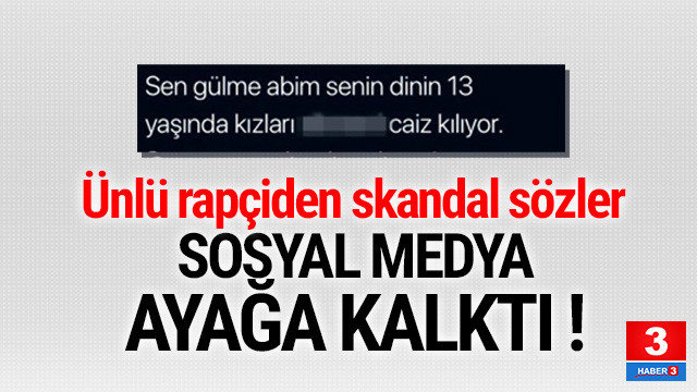 Rapçi Hayki'den skandal sözler ! Sosyal medya ayağa kalktı