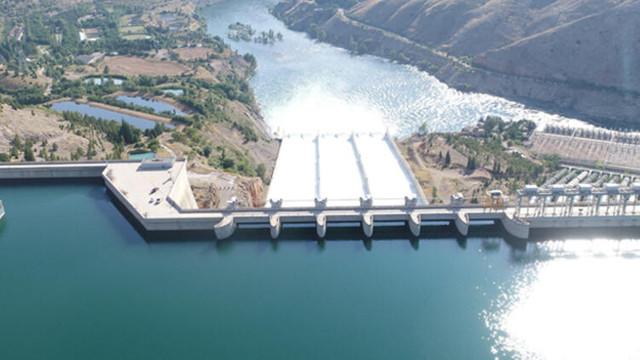 Keban Barajı'nın kapakları 50 gün sonra kapatıldı