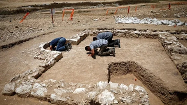 İsrail'de 1200 yıllık cami bulundu
