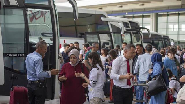 Bayram tatili öncesi otobüs firmalarına ek sefer izni